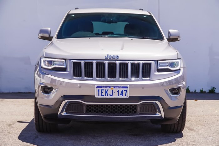 2013 JEEP GRAND CHEROKEE Limited WK Silver