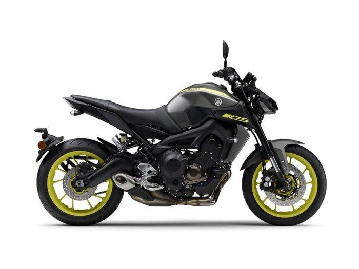 2018 Yamaha MT-09
