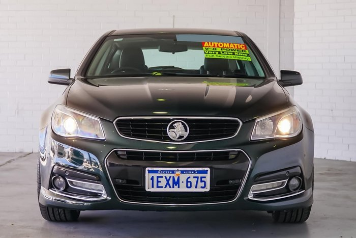 2013 HOLDEN COMMODORE SS V VF Green