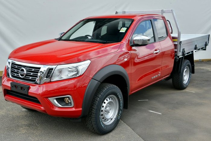 2018 Nissan Navara RX D23 Series 3 4X4 Dual Range BURNING RED