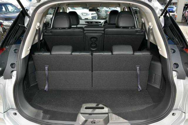 2018 NISSAN X-TRAIL ST-L T32 SERIES II SILVER BRILLIANT
