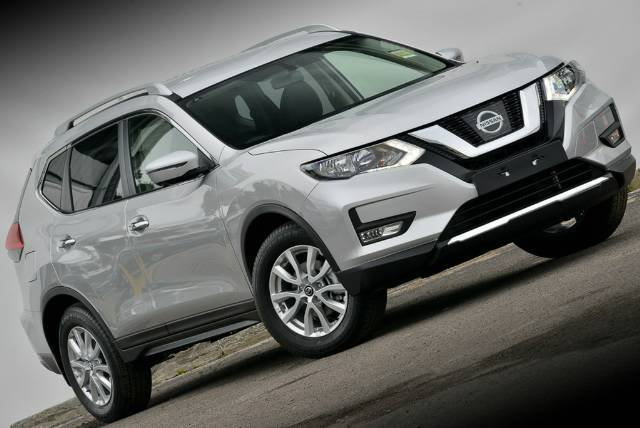 2018 NISSAN X-TRAIL ST-L T32 SERIES II BRILLIANT SILVER