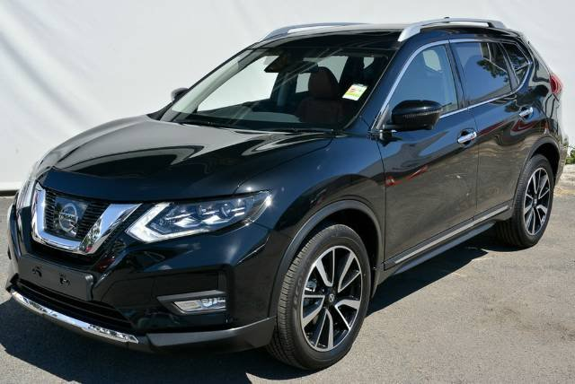 2018 NISSAN X-TRAIL TL T32 SERIES II DIAMOND BLACK