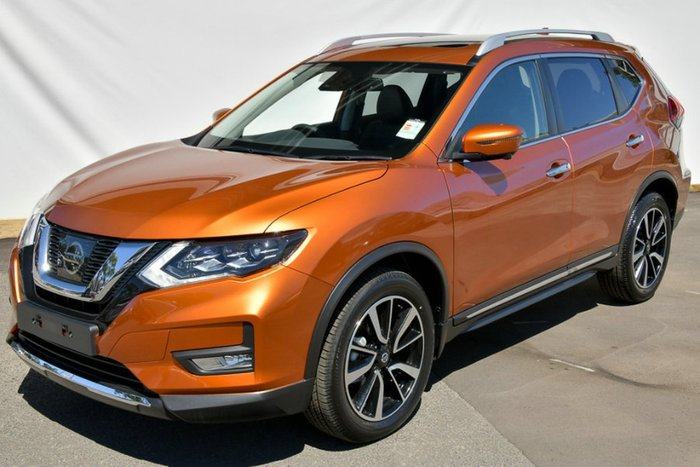 2018 Nissan X-Trail Ti T32 Series II 4X4 On Demand COPPER BLAZE