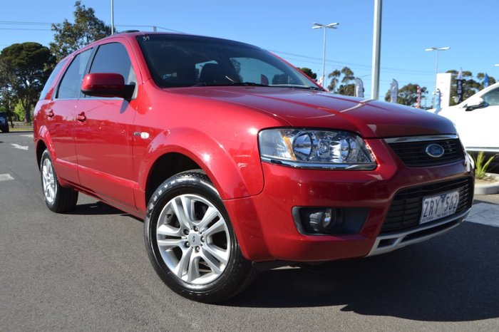 2011 FORD TERRITORY TS SY MKII Red