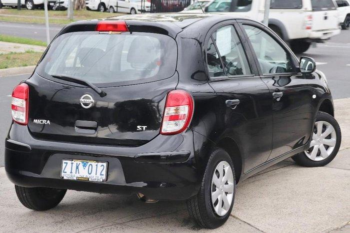 2012 Nissan Micra ST K13 Black
