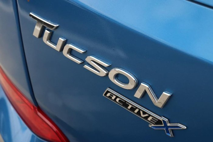 2017 Hyundai Tucson Active X TL MY17 Blue