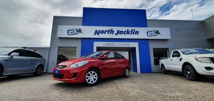 2014 Hyundai Accent Active RB2 RED