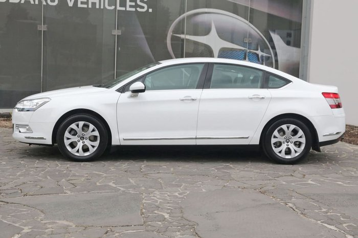 2013 Citroen C5 Exclusive HDi X7 MY13 White