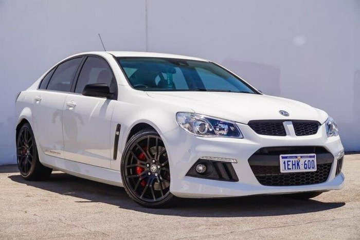 2013 Holden Special Vehicles Clubsport R8 GEN-F MY14 White