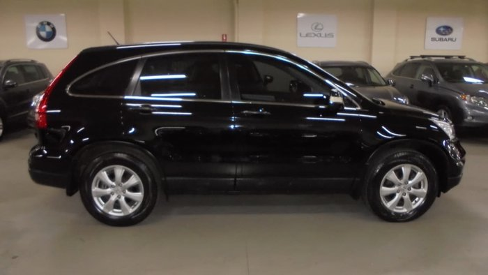 2010 Honda CR-V Limited Edition RE MY10 4X4 On Demand Black