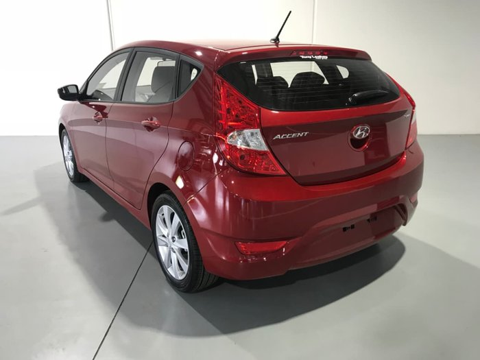 2018 Hyundai Accent Sport RB6 MY18 Red
