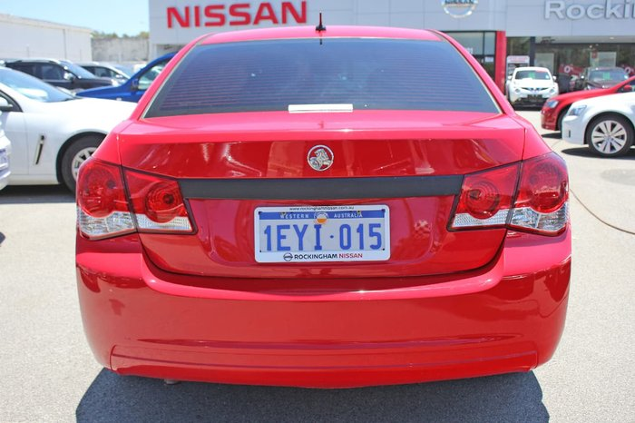 2013 Holden Cruze CD JH Series II MY13 Red