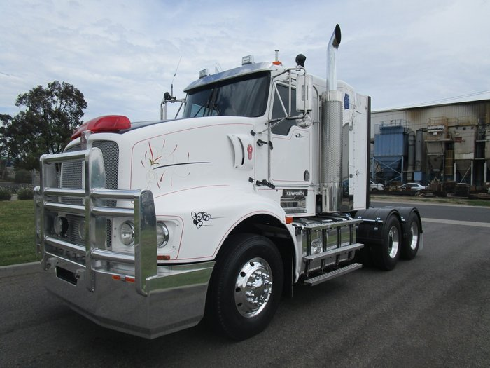 2008 Kenworth T608 WHITE