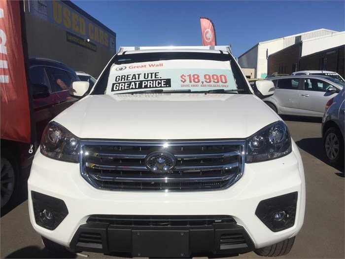 2018 Great Wall Steed K2 PURE WHITE