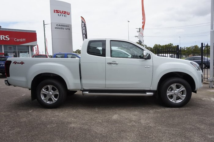2018 Isuzu D-MAX SX High Ride MY18 White