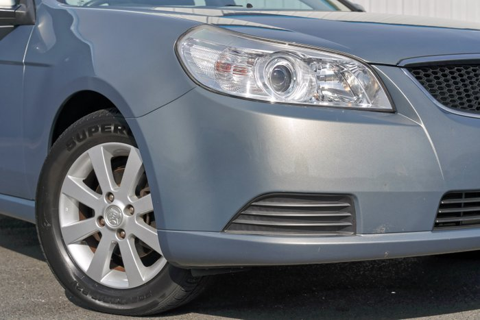 2010 Holden Epica CDX EP MY10 SILVER OR CHROME