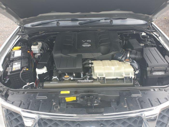 2012 Nissan Navara ST-X D40 Series 5 4X4 SILVER OR CHROM