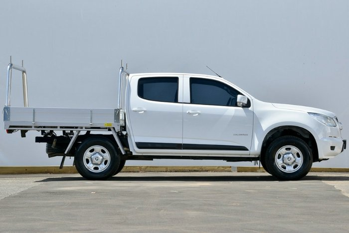 2016 Holden Colorado LS RG MY16 WHITE