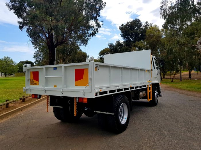 2018 FUSO FIGHTER 1627 8T TIPPER READY TO GO null null White