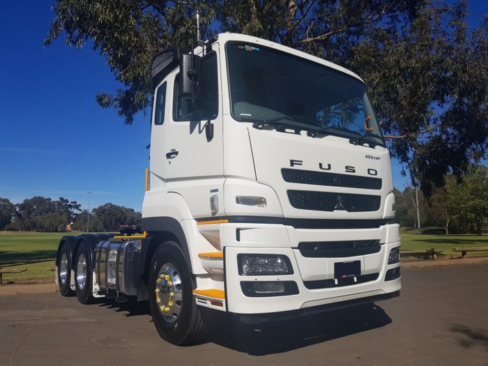 2018 FUSO HEAVY 455HP AMT/AIR SUSP null null White
