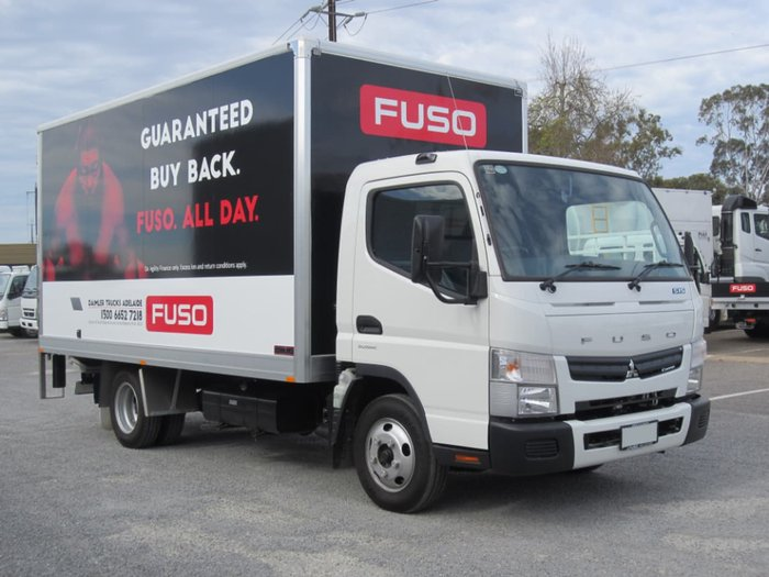 2017 FUSO CANTER 515 WIDE CAB AMT PAN & LOADER & CAR LICENCE null null White