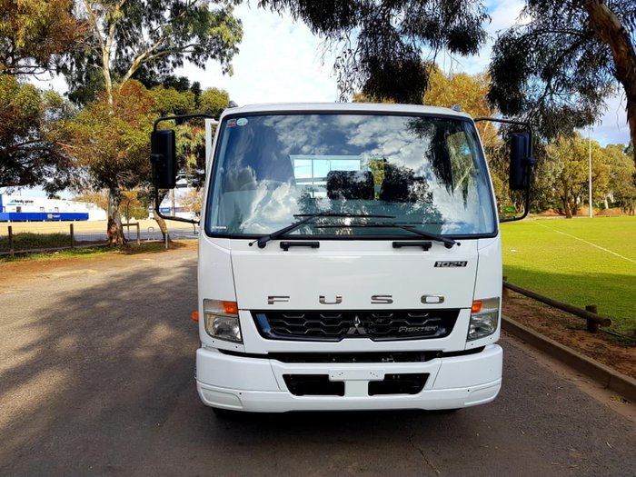 2018 FUSO FIGHTER 1024 MAN 6.5M TRAY CALL FOR GREAT PRICE TODAY null null White