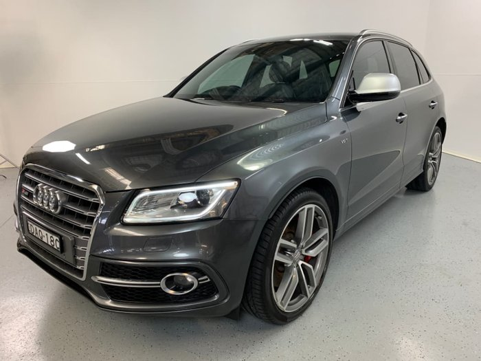 2015 Audi SQ5 TDI 8R MY16 Grey