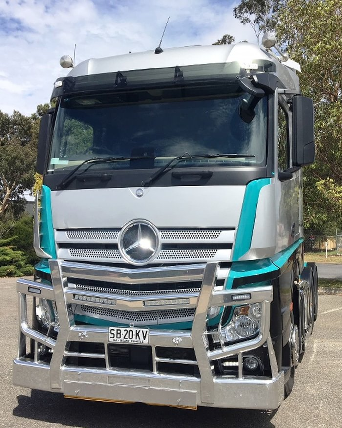 2017 Mercedes-Benz ACTROS 2653 DEMO null null White