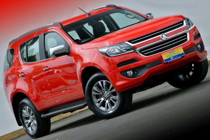 2017 Holden Trailblazer LTZ RG MY18 4X4 Dual Range ABSOLUTE RED