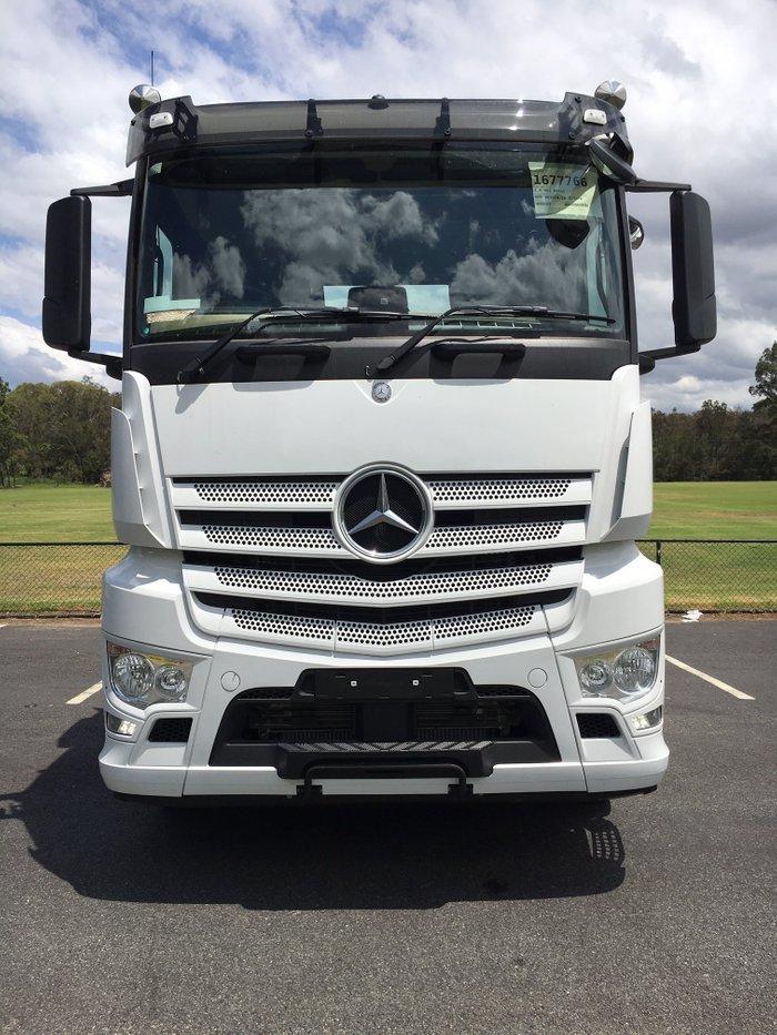 2018 Mercedes Benz 2658 L-Cab ClassicSpace Tipper White