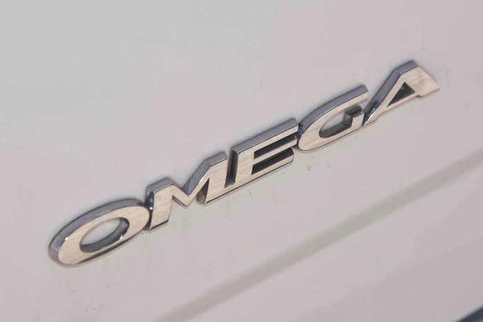 2011 Holden Ute Omega VE Series II White