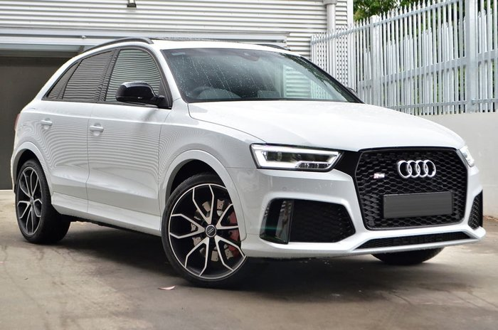 2016 Audi RS Q3 performance 8U MY17 White