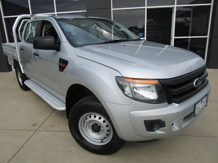 2012 Ford Ranger XL PX Silver