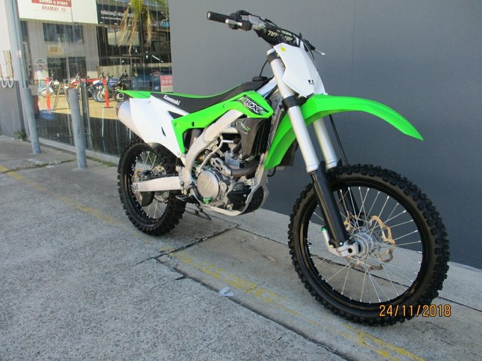 2016 Kawasaki KX450F Green