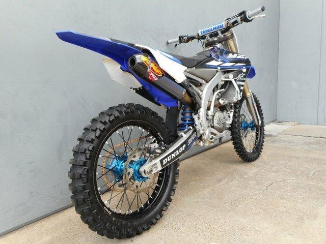 2014 YAMAHA YZ450F Blue