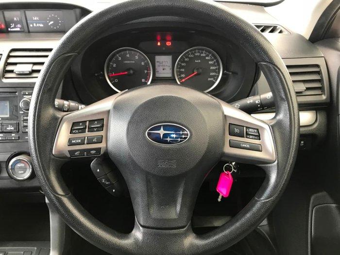 2014 Subaru Forester 2.0i S4 MY14 Silver