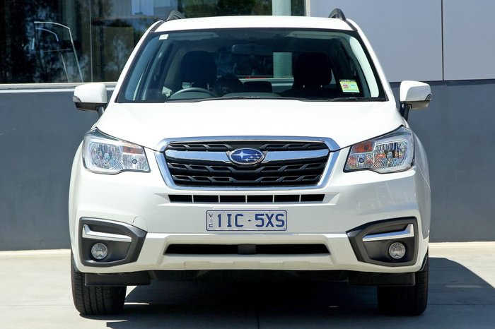 2018 Subaru Forester 2.5i-L S4 MY18 White