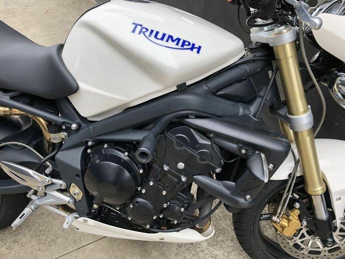 2009 Triumph STREET TRIPLE 675 WHITE