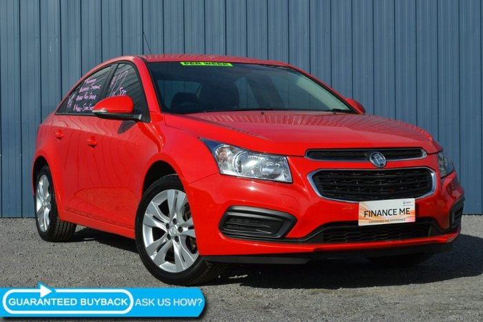 2015 Holden Cruze Equipe JH Series II MY15 RED HOT