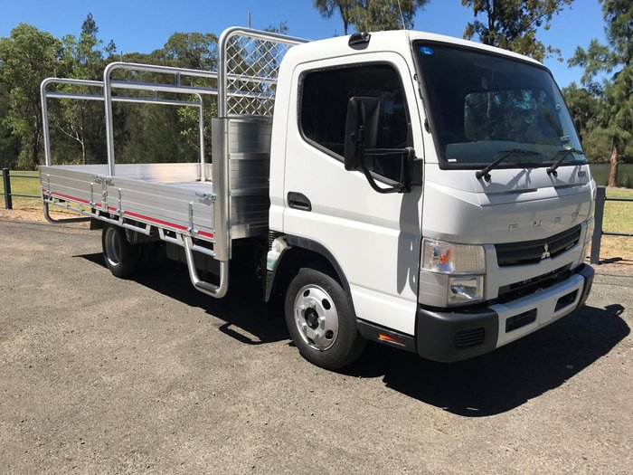 2018 Fuso Canter 515 Wide FEB21ER4SFAC White