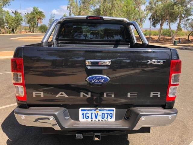 2015 FORD RANGER XLT 3.2 (4x4) PX MKII SAPPHIRE BLACK B20