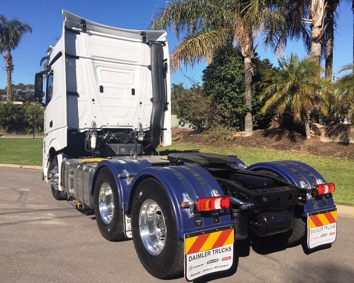 2018 MERCEDES-BENZ ACTROS 2653 DEMONSTRATOR null null White