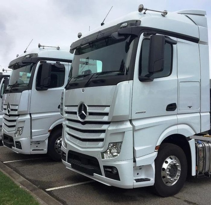 2018 MERCEDES-BENZ ACTROS 2653 null null White