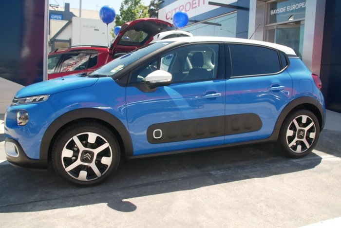 2018 Citroen C3 Shine B618 MY18 Blue