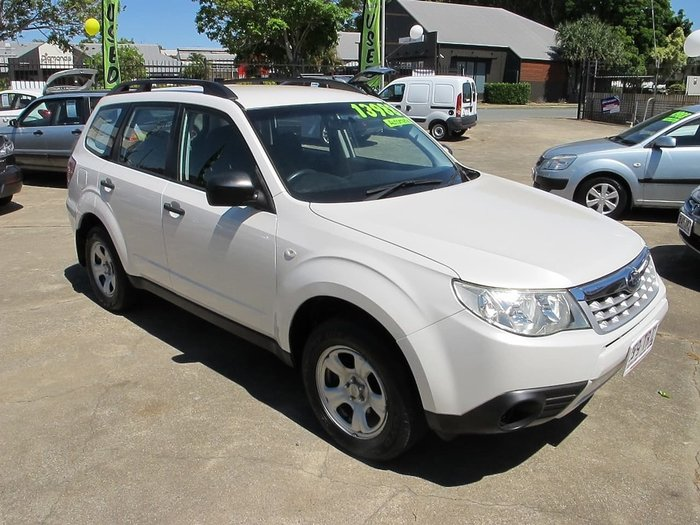 2011 Subaru Forester X S3 MY11 White