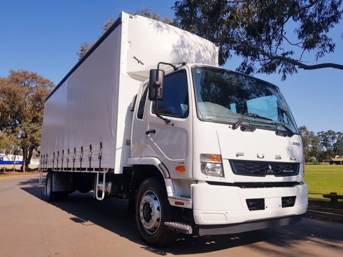 2018 FUSO FIGHTER 1627 AUTO LWB TAUTLINER null null WHITE