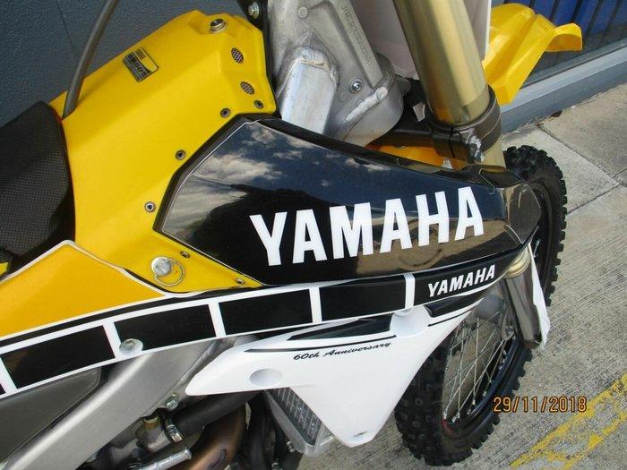 2016 Yamaha YZ450F 60TH ANNIVERSARY Yellow