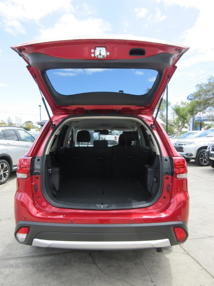 2017 Mitsubishi Outlander LS Safety Pack ZK MY18 4X4 On Demand Red