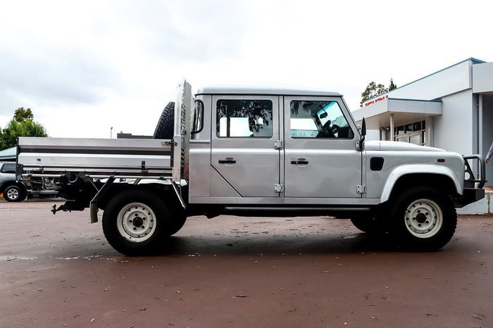 2013 Land Rover Defender 130 MY13 4X4 Silver